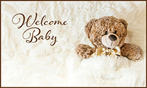 Welcome Baby - Bear