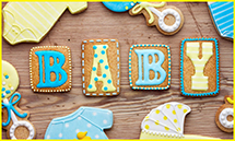 Welcome Baby - Cookies